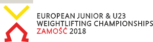 European Junior & U23 Weightlifting Championships 2018